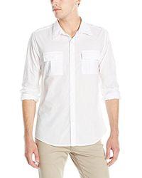 Guess - Laguna Military Shirt - Lyst