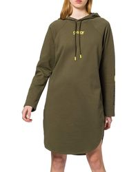 G-Star RAW Sleeve Print Hooded Sweat - Green