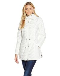 Laundry by Shelli Segal - Quilted Anorak - Lyst