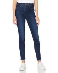 Levi's 721 High Rise Skinny Jeans - Azul