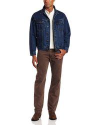 Wrangler - Big & Tall Unlined Denim Jacket,antique Indigo,4x Big - Lyst