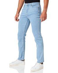 Meraki Stretch Straight Fit - Blue