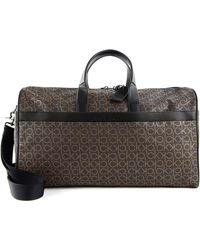 Calvin Klein CK Duffle Bag Brown Mono - Marron
