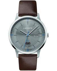 Lacoste Analogique Quartz Montre avec Bracelet en Silicone 2011039 - Blanc