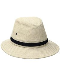368ced3d9be Lyst - Tommy Bahama Linen Seagrass Safari Hat in Natural for Men