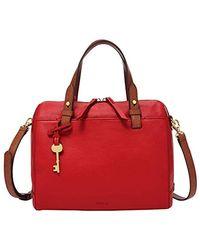 Fossil Rachel Handbag Red