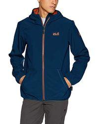 c3d92099fab4b Essential Peak Softshell Jacket - Blue