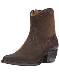 Frye - Sacha Short-os Western Boot - Lyst