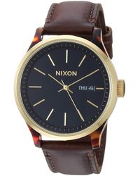 Nixon Sentry Luxe A1263-100m Water Resistant Analog Fashion Watch - Mehrfarbig
