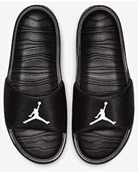 Nike Jordan Break Slide Basketballschuhe - Schwarz