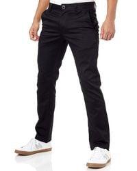Volcom Frickin Modern Fit Stretch Chino Pant - Black