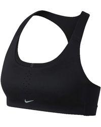 Nike Pacer Bra 2 Sport-BH - Schwarz