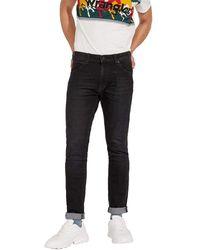Wrangler Larston' Slim Jeans - Black