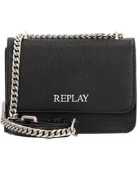 Replay Shoulder Bag 18 Cm - Black