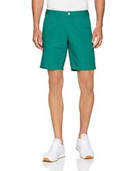 GANT Cotton Linen Shorts - Green