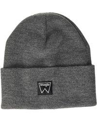 Wrangler Basic Beanie Hat - Black