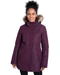 Mountain Warehouse Tarka S Winter Jacket -long - Purple