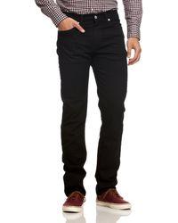 Levi's Herren Jeanshose 511 Slim Fit - Schwarz