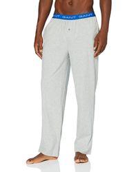 GANT Pyjama Trousers Jersey Pyjama Bottoms - Grey