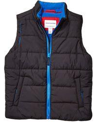 Amazon Essentials Boy's Heavy-weight Puffer Vest - Black