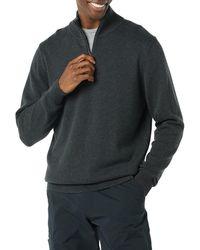 Amazon Essentials 100% Cotton Quarter-zip Jumper - Multicolour