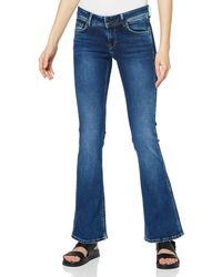 Pepe Jeans - New Pimlico Flared Jeans - Lyst