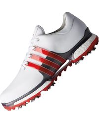 Adidas Leather Tour 360 Boost 2 0 Golf Shoes In Metallic For Men Lyst