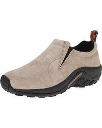 Merrell Mens Jungle Moc Loafers Shoes - Natural