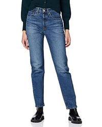 Levi's 501 Crop Boyfriend Jeans - Blau