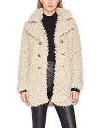 Vero Moda - Vmelnora Jayla Fake Fur Jacket Coat - Lyst
