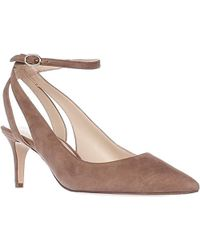 0e254b1b66c Nine West - Shawn Suede Dress Pump - Lyst
