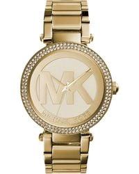 Michael Kors Mini Kerry Silver-tone Watch Mk3441 - Metallic