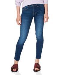 Springfield Jeans Air Stretch Push up Pantalones - Azul