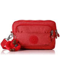d458e6a7c99 ALDO Theang Embroidered Cross-body Bag in Red - Lyst