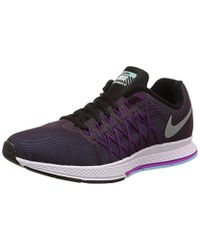 best website 3c9a3 f6623 Nike  s Wmns Air Zoom Pegasus 32 Flash Sports Shoes in Purple - Lyst