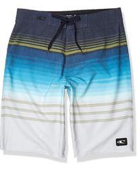 O'neill Sportswear 20 Inch Outseam Ultrasuede Swim Boardshort - Blue