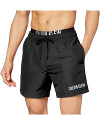 Calvin Klein Medium Double WB Pantaloncini - Nero