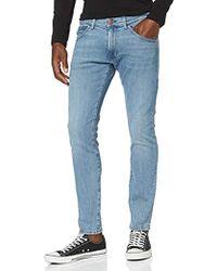 Wrangler Bryson Jeans Skinny Uomo - Blu