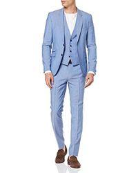 HUGO Arti/Hesten192v1 Anzug - Blau