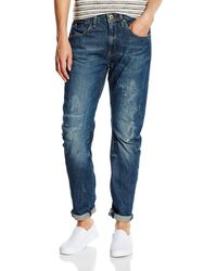 G-Star RAW Arc 3D Low Waist Boyfriend' Jeans - Blu