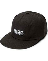 Volcom Shift Stone Adjustable Hat - Black