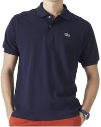 Lacoste L1212 Camiseta Polo - Azul