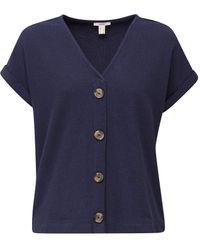 Esprit 030EE1K408 T-Shirt - Bleu