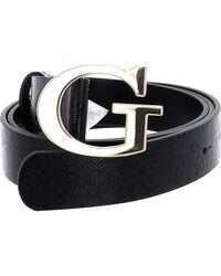 Guess Astrid Adjustable Pant Belt W95 Black - Schwarz