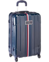 Tommy Hilfiger Starlight Hardside Spinner Luggage - Red