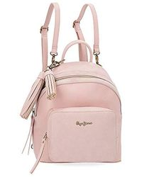 Pepe Jeans Bitmat Bag Or Backpack - Pink