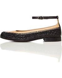 FIND Basket Weave Flat Shoes Multicolour - Black