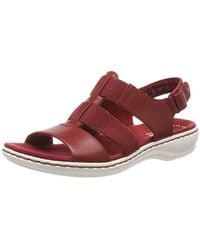 Clarks Leisa Brody - Rosso