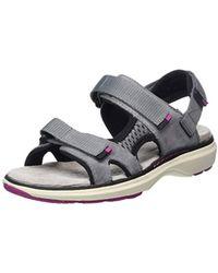 3f86698bb61 Clarks Un Roam Step Women s Sandals In Grey in Gray - Lyst