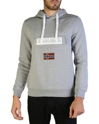 Napapijri , Burgee, Sweat-Shirt - Gris